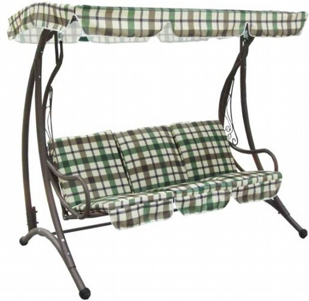 Decorative Garden Three Seater Swing Chair