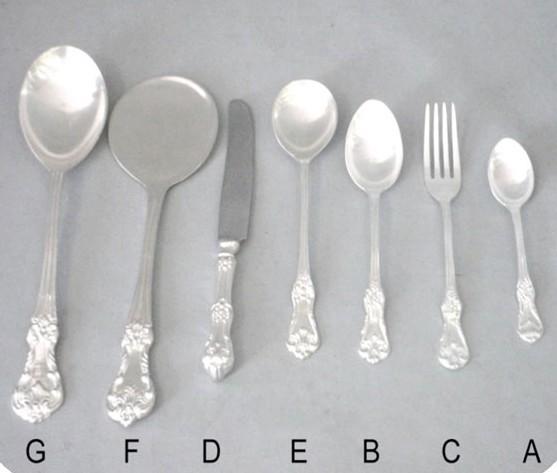 Dessert Spoon, B - 7 Inches