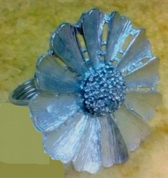 Flower Shape Brass Napkin Ring