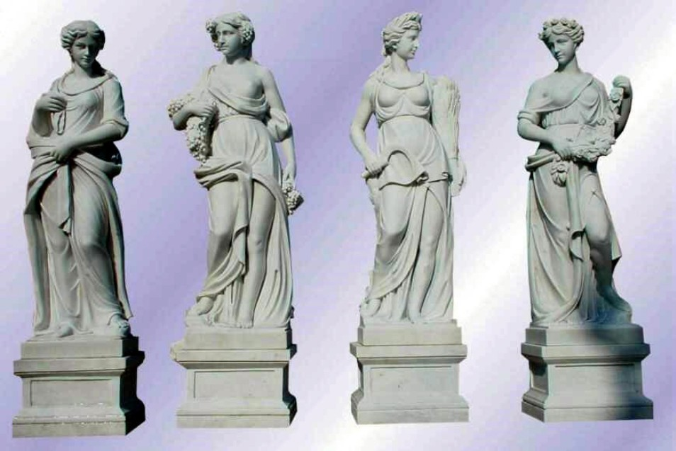 Grey Color marble Sculpture