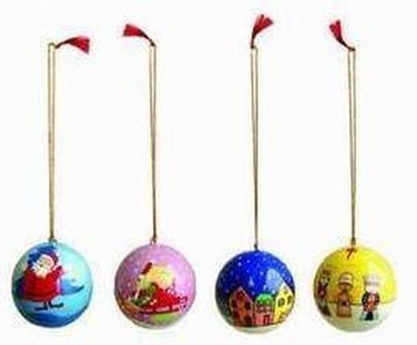 Hanging Christmas Ball Set of 4 Pcs