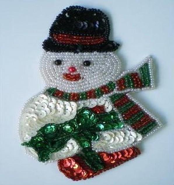 Hanging Christmas Snowman