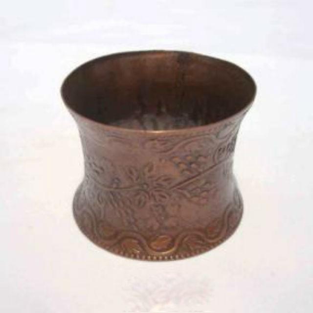 Iron Napkin Ring embossed design