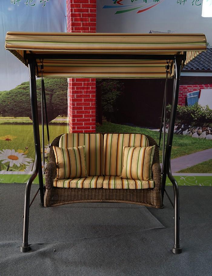 Iron Stand & Aluminum Decorative Stylish 2 Seater Swing