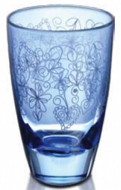Joyce Blue Glass