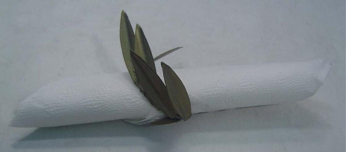Leaf Green Napkin Ring
