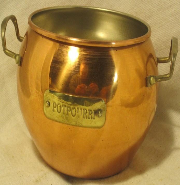 Metal Brass Potpourri Container