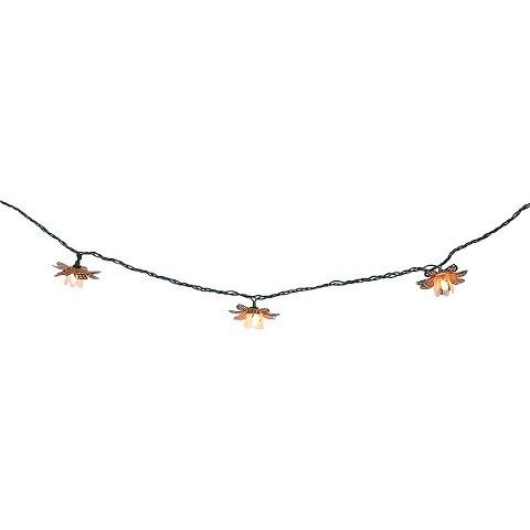 Metal Flower Cover String Light Set