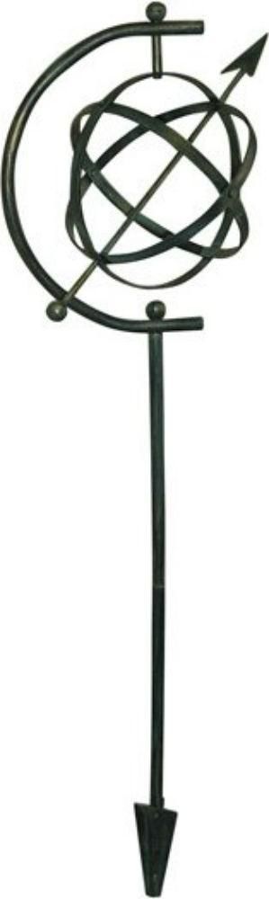 Modern Arrow Design Metal Sundial