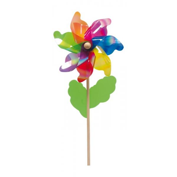Multicolored Flower Plastic Weathervanes