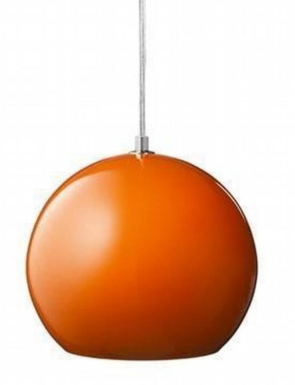 Orange Topan Pendant Light