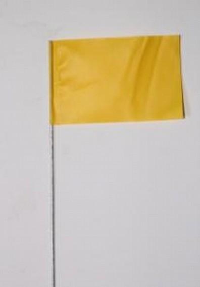 "Plain Yellow Flag (4"" X 5"" X 15"")"