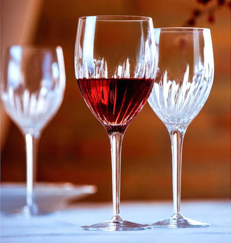 Red Wine Stem Glass