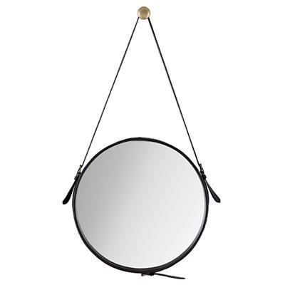Round Hanging Mirror Frame
