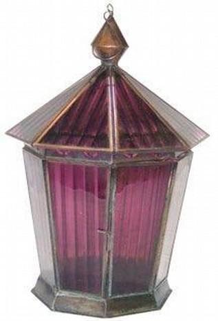 Street Pink Lanterns