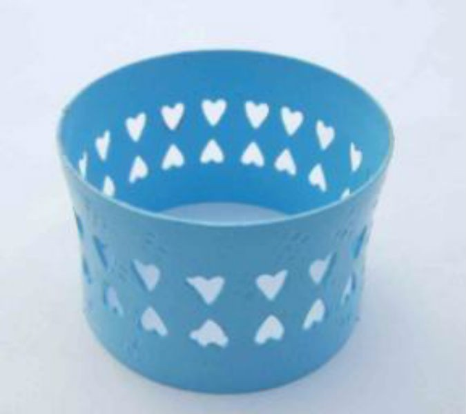 Turquoise color Iron Napkin Ring