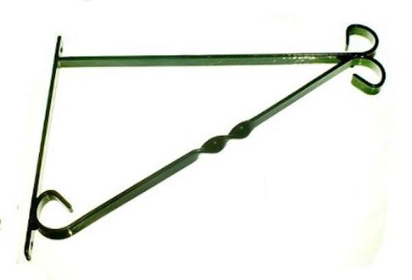 Standard Hanging Basket Bracket - Green