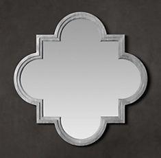 Weathered Zinc Single Fez Mirror