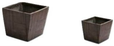 Elegant 10 Inch Height Fiberglass Planter