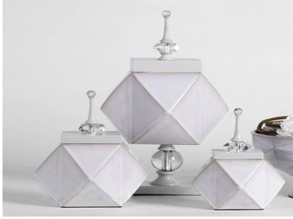 European style artificial resin diamond home decoration (A)