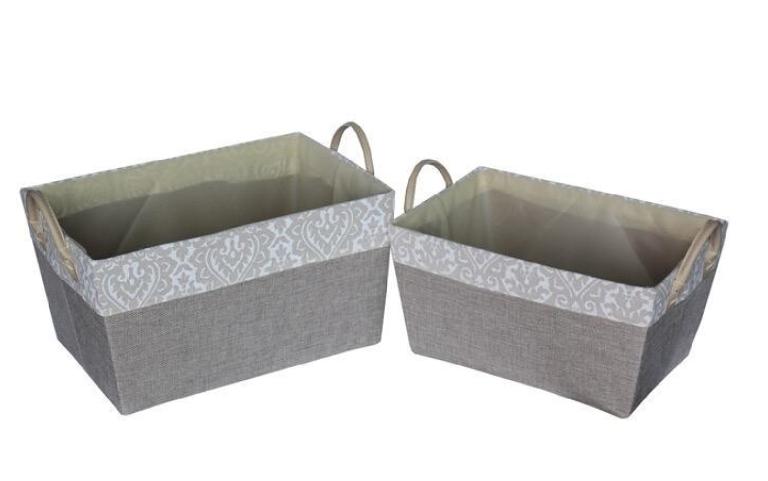Fabric Laundry Basket-Square Shaped