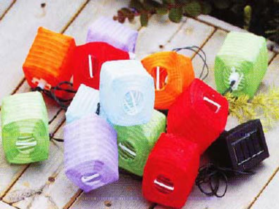 foldable Christmas solar lantern camp lights