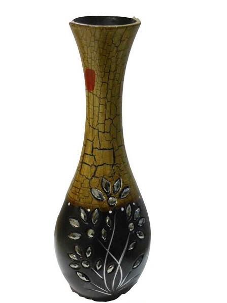 Designer Shaded Color With Stone Work Flower Design