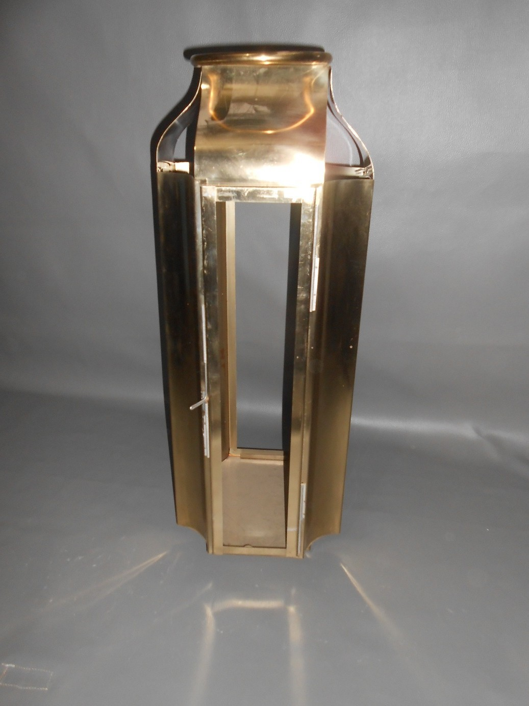 Gold Plated Steel Lanterns
