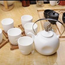 Good quality ,White ceramic tea set