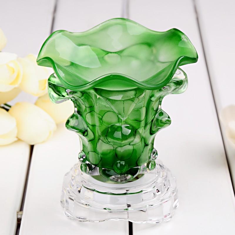 Green Crystal Aroma Lamp