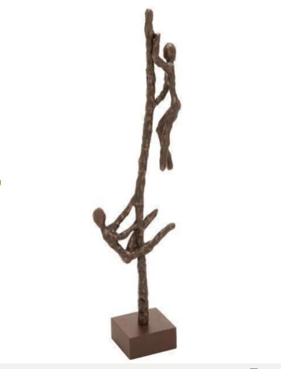 Humans With Pole design decorative sculpture