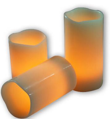LED candle light  yellow light