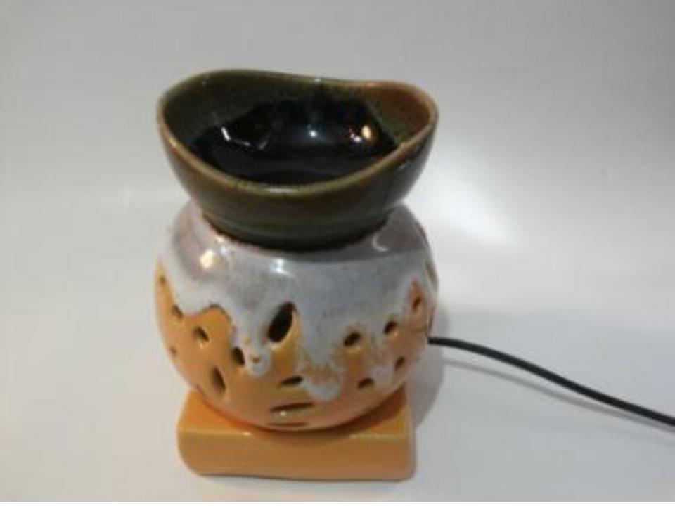 Beautiful design of pot  AROMA LAMP SETS size-7inch