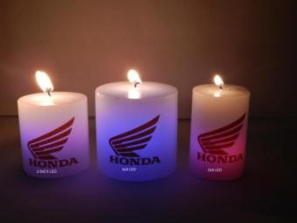 Corporate LED CANDLES  3x3''pillar