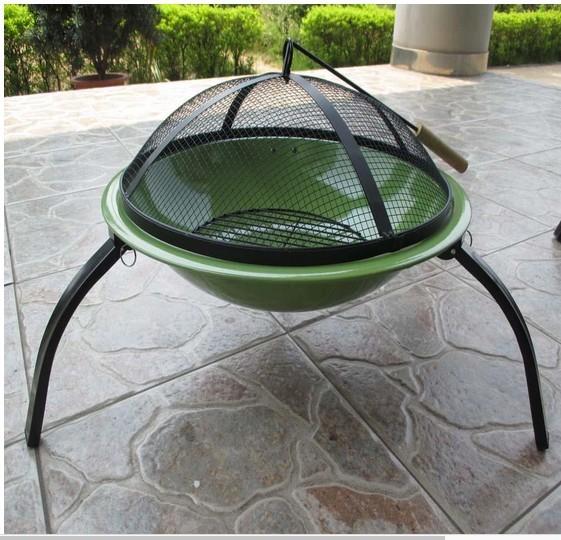 """Fire pit for garden patio, size 56cm Dia. x 39cm"""" H"""