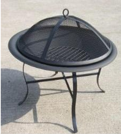 "Fire pit for outdoor patio, 21.9"" x H18.5"""