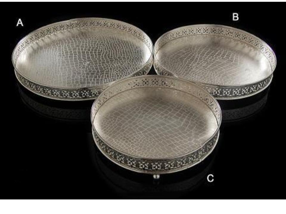 Mesmerizing design Round Tray (B)