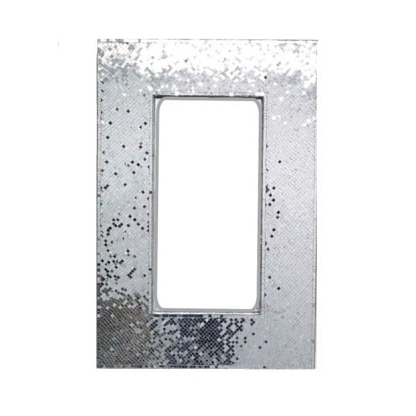 Decorative Mosaic Glass Silver Mirror
