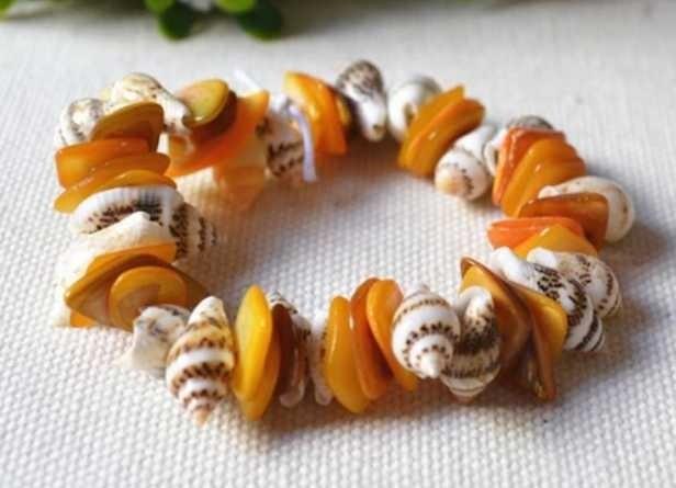 Natural Seashell Hand Catenary Crafts