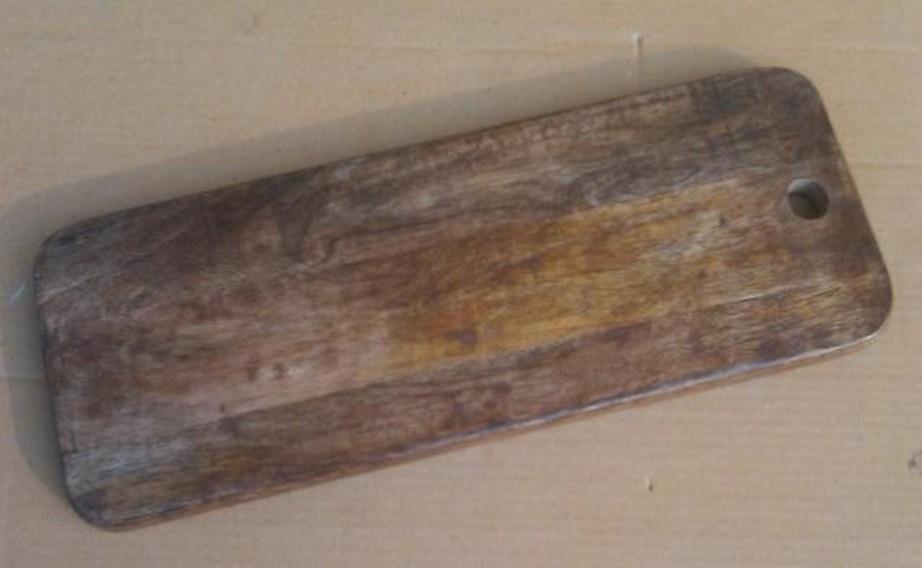 Natural Shade Brown Rectal Wooden Chopping Board