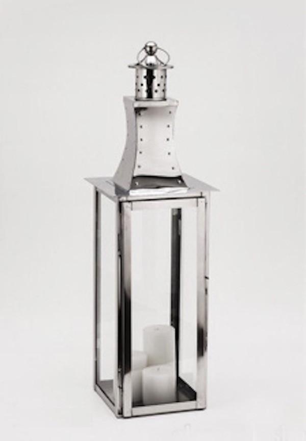 Nickel Plated Stainless Steel Lantern