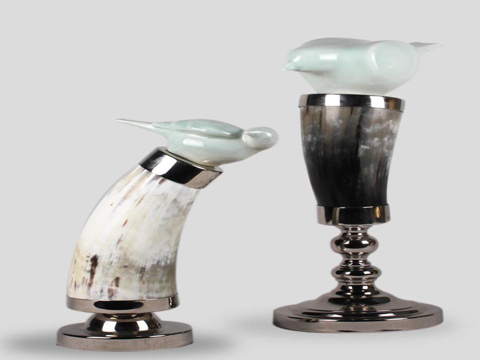 Ox horn candlestick of love (B)