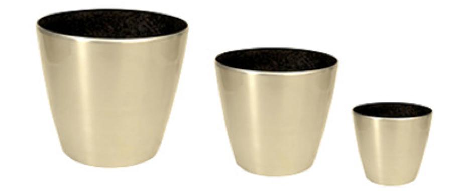 Small Aluminium Planter Size 8 X 6 X 8 Inch