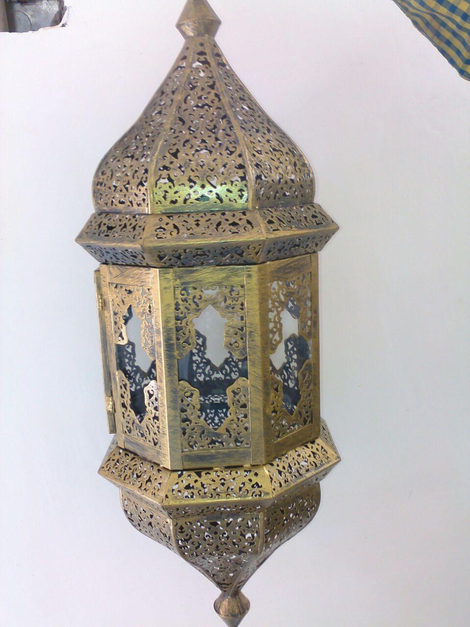 Traditional floral design lantern