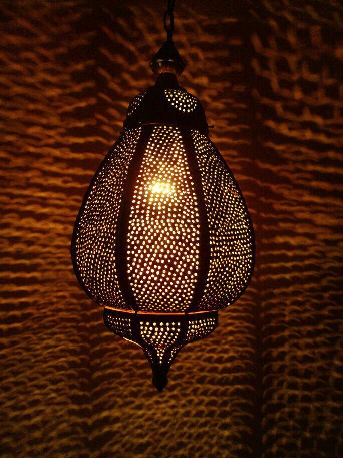 Brown colour unique design lantern