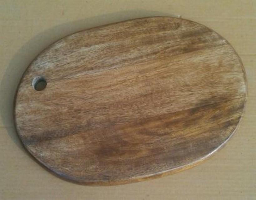 Rectangle Round Oak Wooden Chopping Board