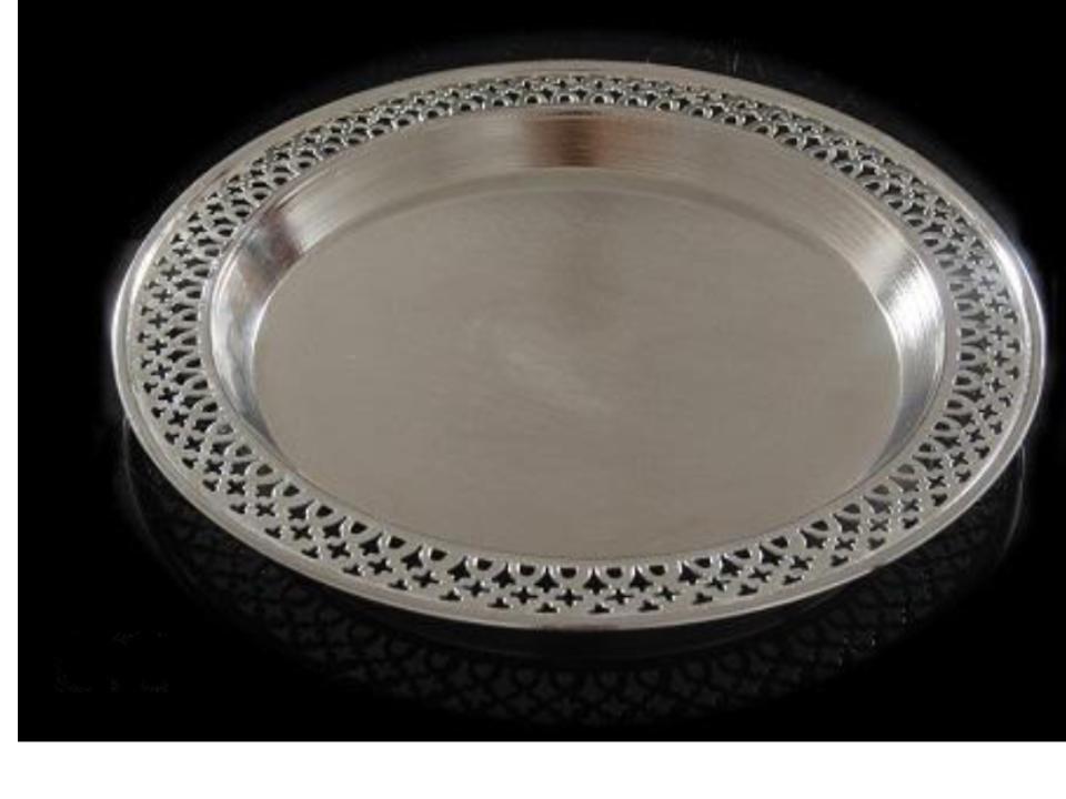 Round Design Tray