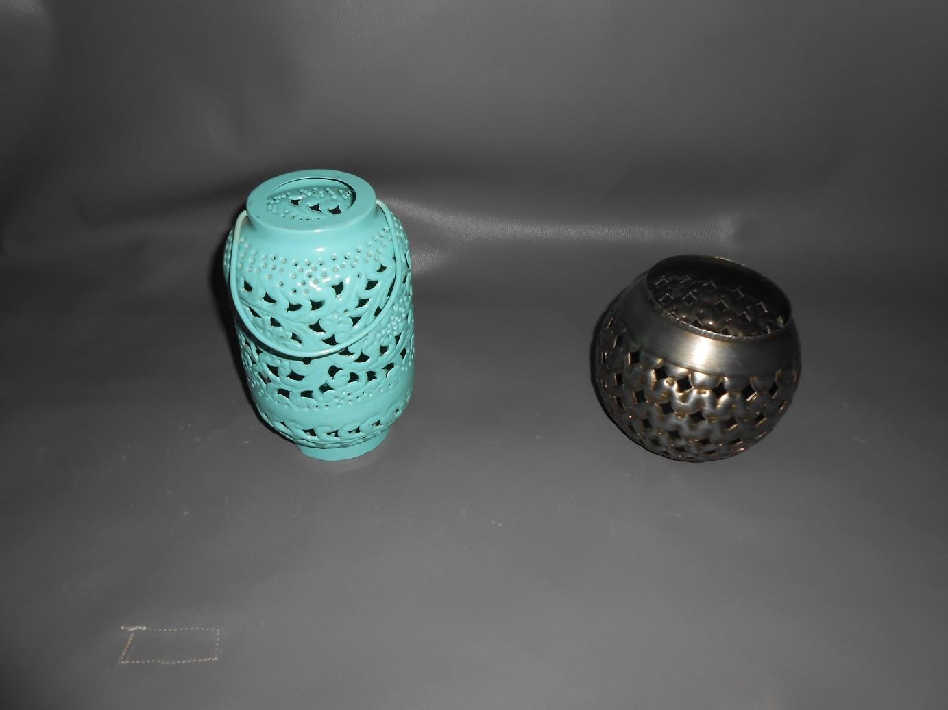 Silver Color Decorative Lanterns