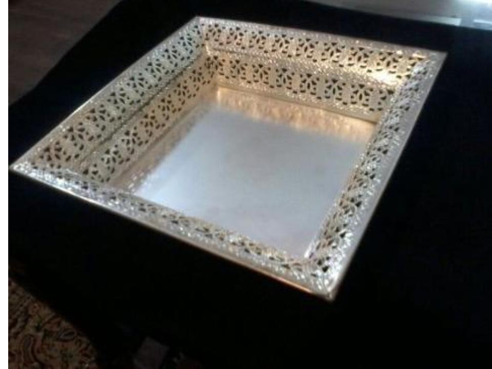 Silver Plated Tray (A)