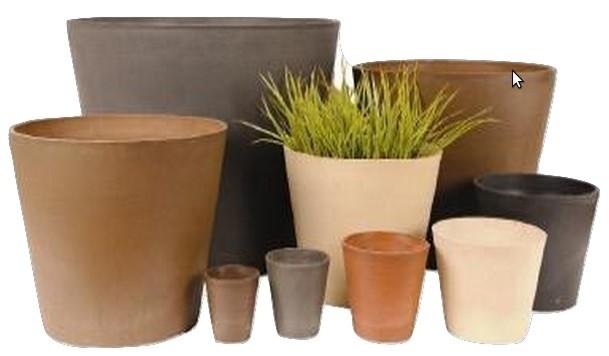 Simple Design 33.3cm Height Stone Planter
